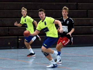 Luca Erb und Alex Beljaew B-Jugend SG Scutro